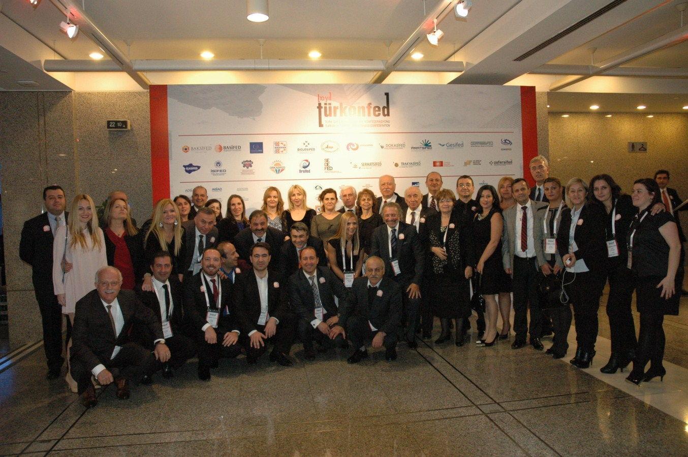 TURKONFED 10. Yılını Kutladı